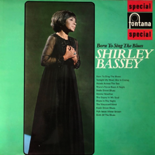 Shirley Bassey ‎- Born To Sing The Blues (LP) (EX-/EX)